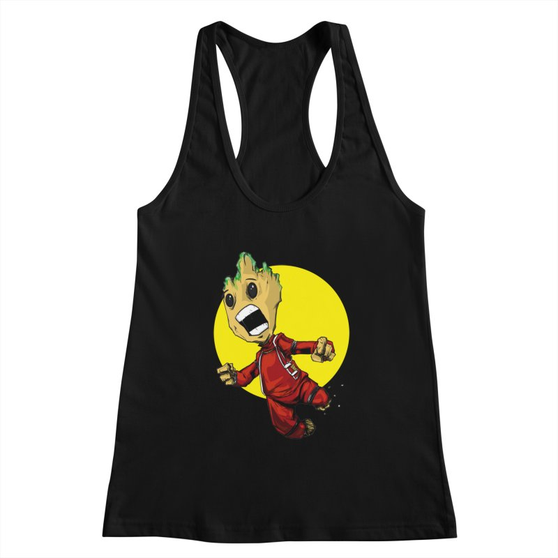 AHHHH!!!!! Women's Racerback Tank by wolly mcnair's Artist Shop