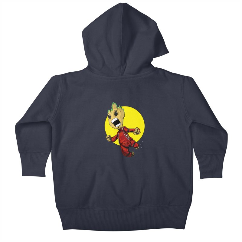 AHHHH!!!!! Kids Baby Zip-Up Hoody by wolly mcnair's Artist Shop
