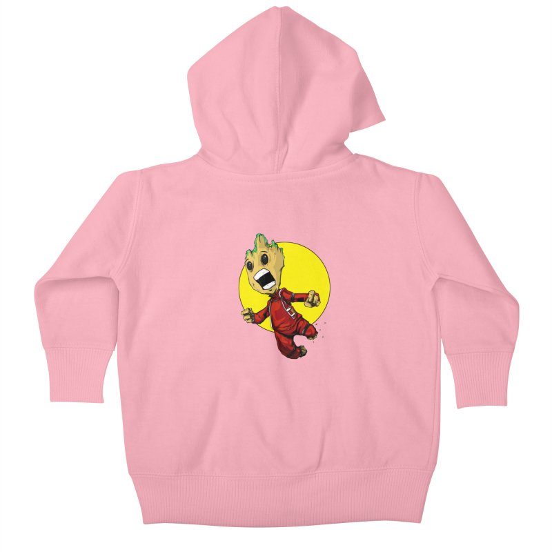 AHHHH!!!!! Kids Baby Zip-Up Hoody by wolly mcnair's Artist Shop