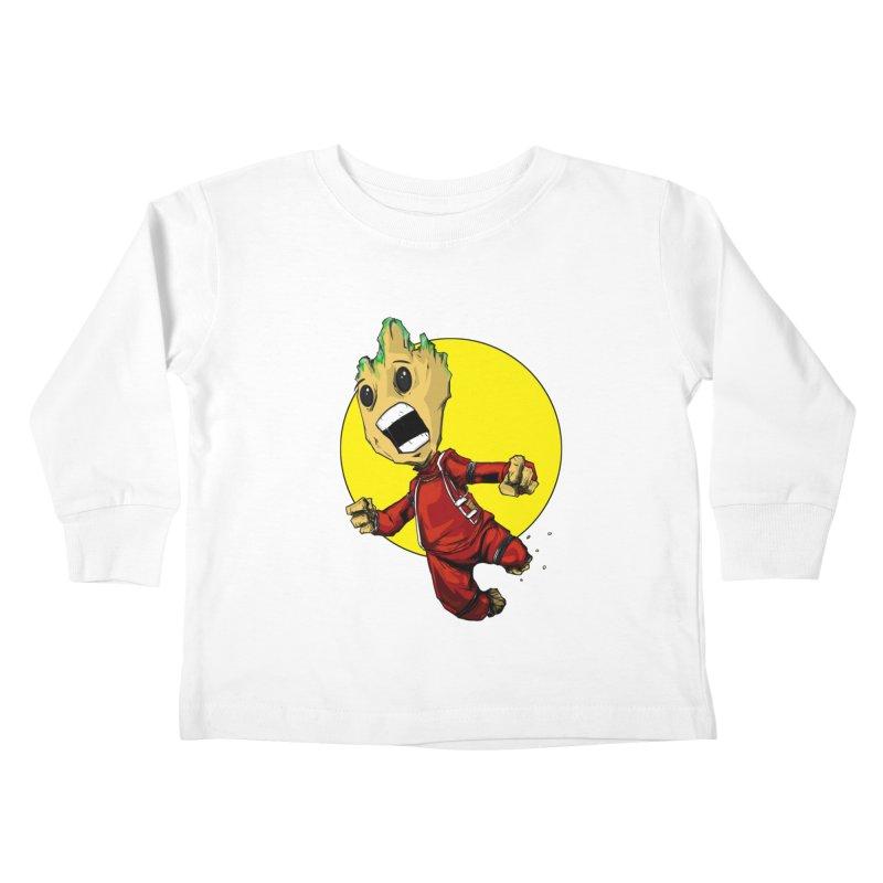 AHHHH!!!!! Kids Toddler Longsleeve T-Shirt by wolly mcnair's Artist Shop