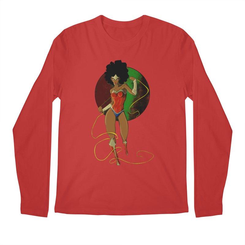 Nubia Men's Regular Longsleeve T-Shirt by wolly mcnair's Artist Shop
