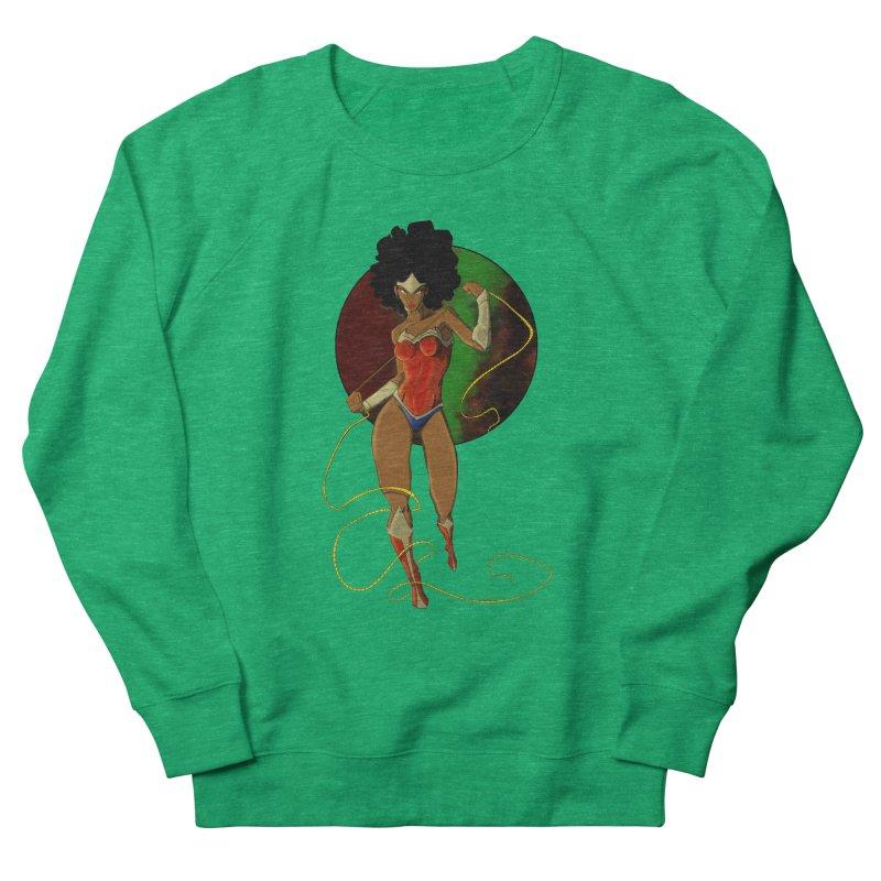 Nubia Women's Sweatshirt by wolly mcnair's Artist Shop