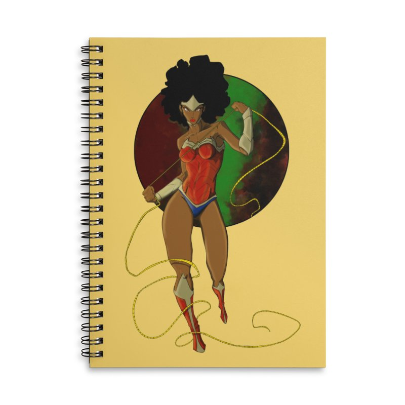 Nubia Accessories Notebook by wolly mcnair's Artist Shop