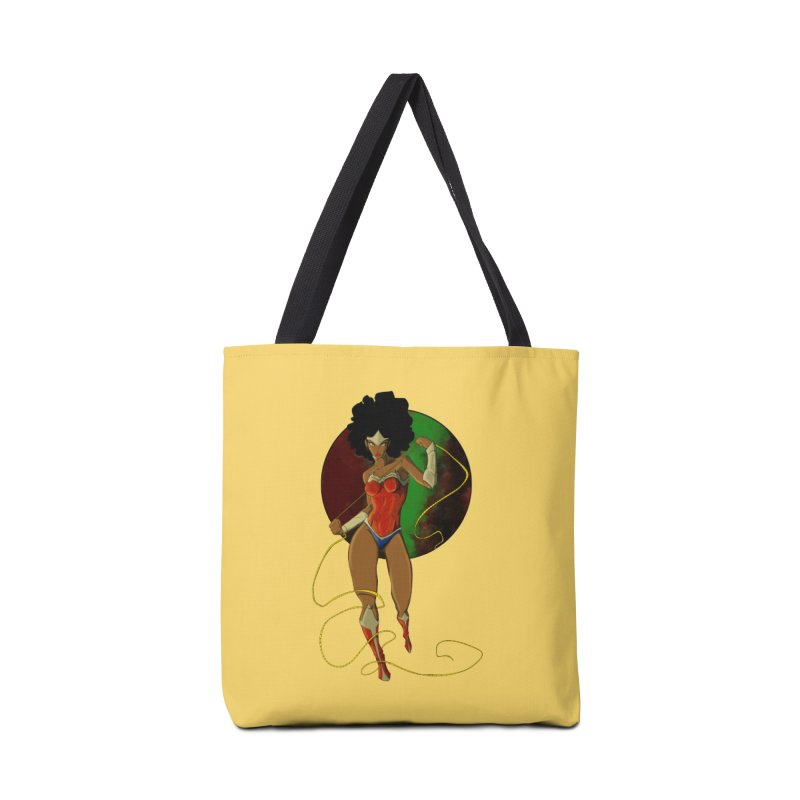 Nubia Accessories Tote Bag Bag by wolly mcnair's Artist Shop