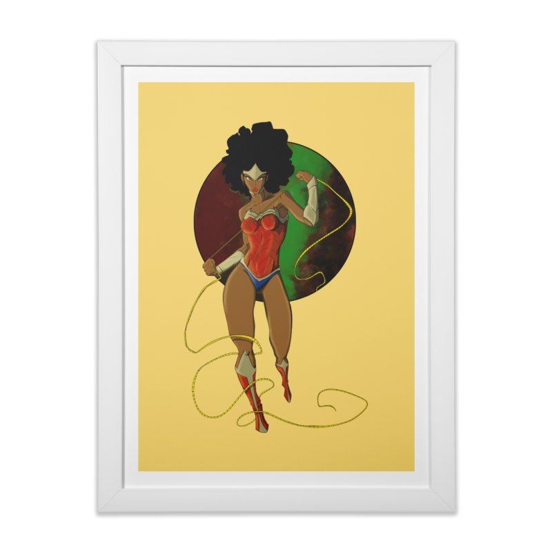Nubia Home Framed Fine Art Print by wolly mcnair's Artist Shop