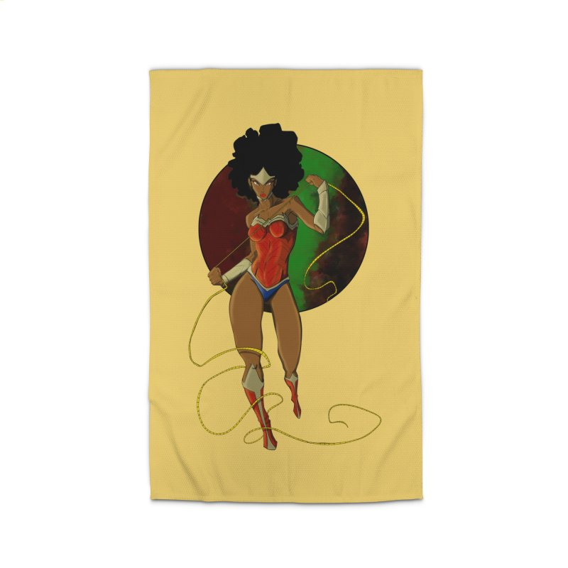 Nubia Home Rug by wolly mcnair's Artist Shop