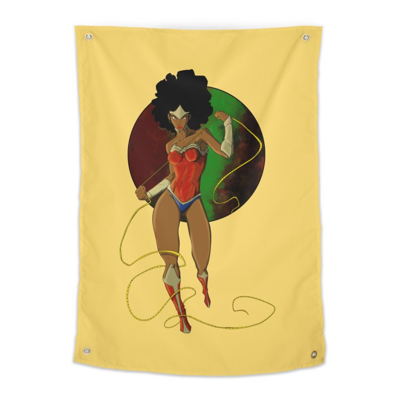 Nubia Home Tapestry by wolly mcnair's Artist Shop