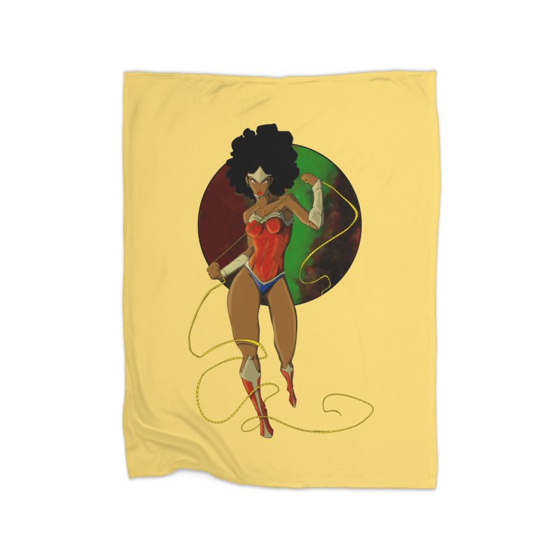 Nubia Home Blanket by wolly mcnair's Artist Shop