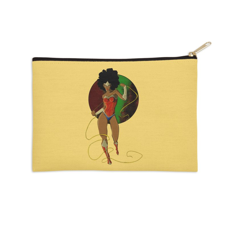 Nubia Accessories Zip Pouch by wolly mcnair's Artist Shop
