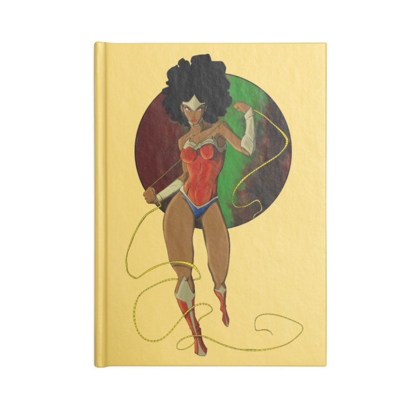 Nubia Accessories Lined Journal Notebook by wolly mcnair's Artist Shop