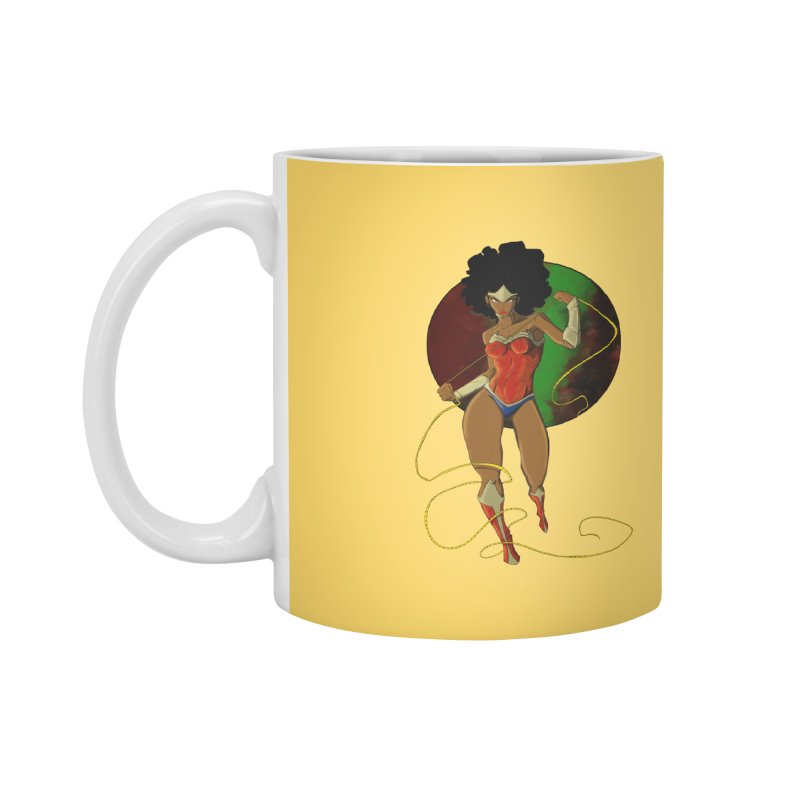 Nubia Accessories Mug by wolly mcnair's Artist Shop