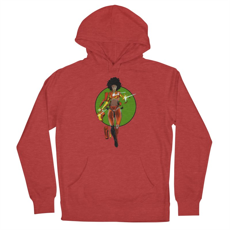 heart Men's French Terry Pullover Hoody by wolly mcnair's Artist Shop