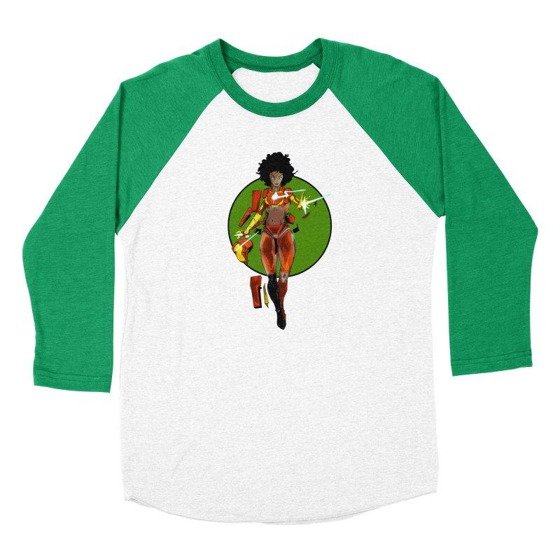 heart Men's Baseball Triblend Longsleeve T-Shirt by wolly mcnair's Artist Shop