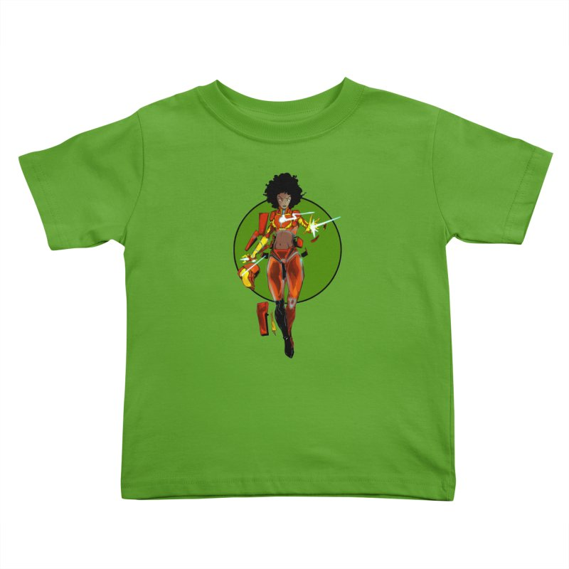 heart Kids Toddler T-Shirt by wolly mcnair's Artist Shop