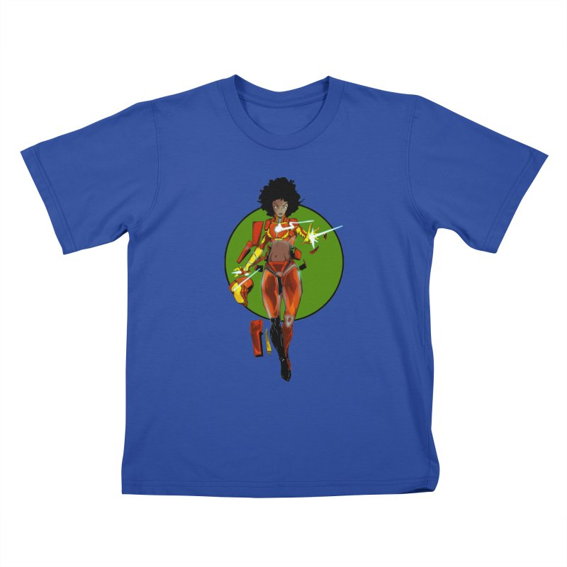 heart Kids T-Shirt by wolly mcnair's Artist Shop