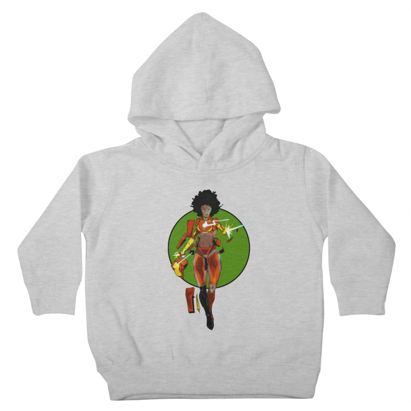 heart Kids Toddler Pullover Hoody by wolly mcnair's Artist Shop