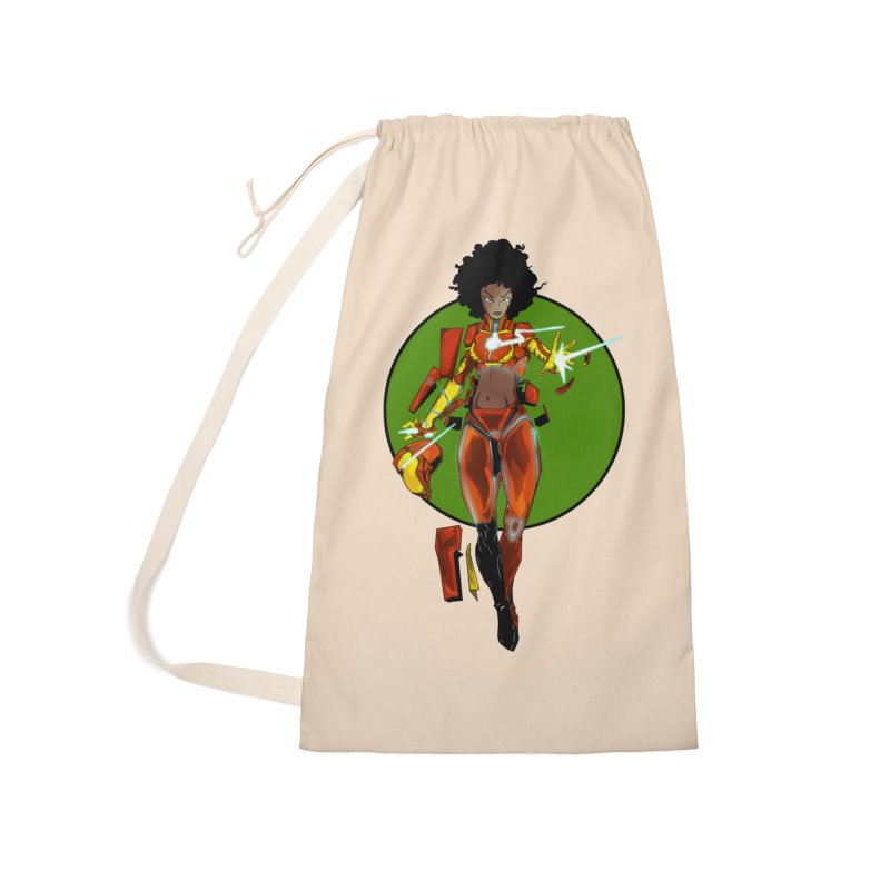 heart Accessories Laundry Bag Bag by wolly mcnair's Artist Shop