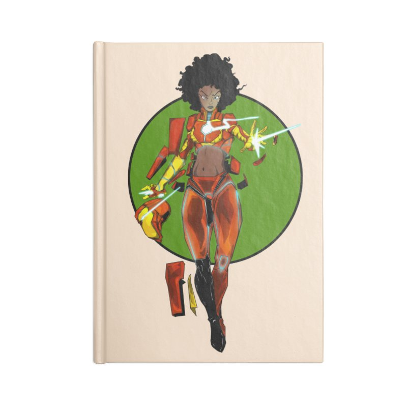 heart Accessories Notebook by wolly mcnair's Artist Shop