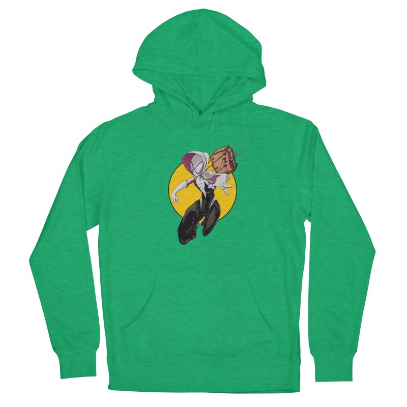 im' late!!  Men's French Terry Pullover Hoody by wolly mcnair's Artist Shop