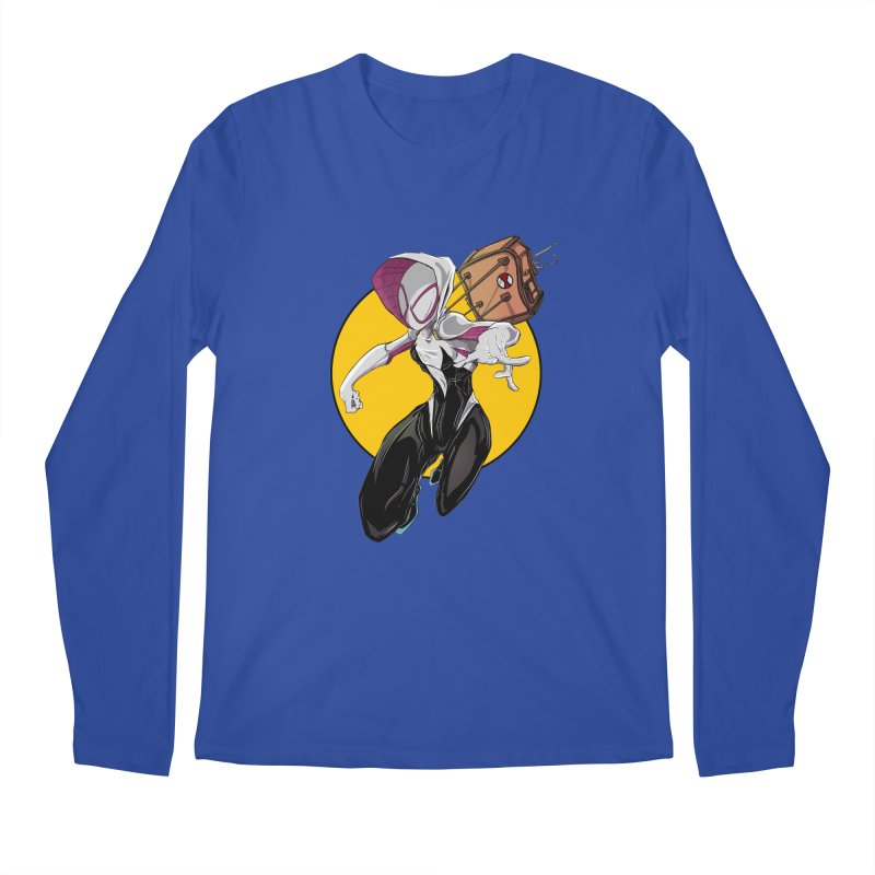 im' late!!  Men's Longsleeve T-Shirt by wolly mcnair's Artist Shop