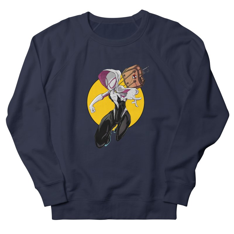 im' late!!  Women's French Terry Sweatshirt by wolly mcnair's Artist Shop