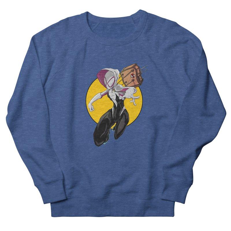 im' late!!  Men's Sweatshirt by wolly mcnair's Artist Shop