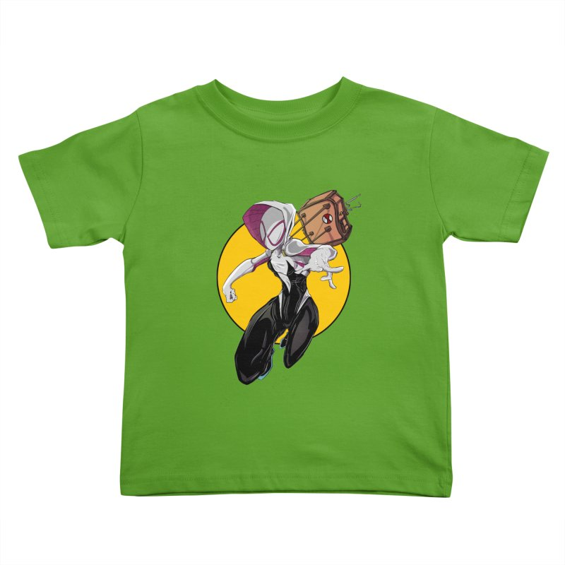 im' late!!  Kids Toddler T-Shirt by wolly mcnair's Artist Shop