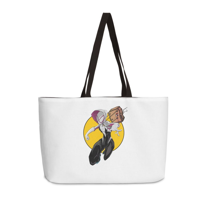 im' late!!  Accessories Weekender Bag Bag by wolly mcnair's Artist Shop