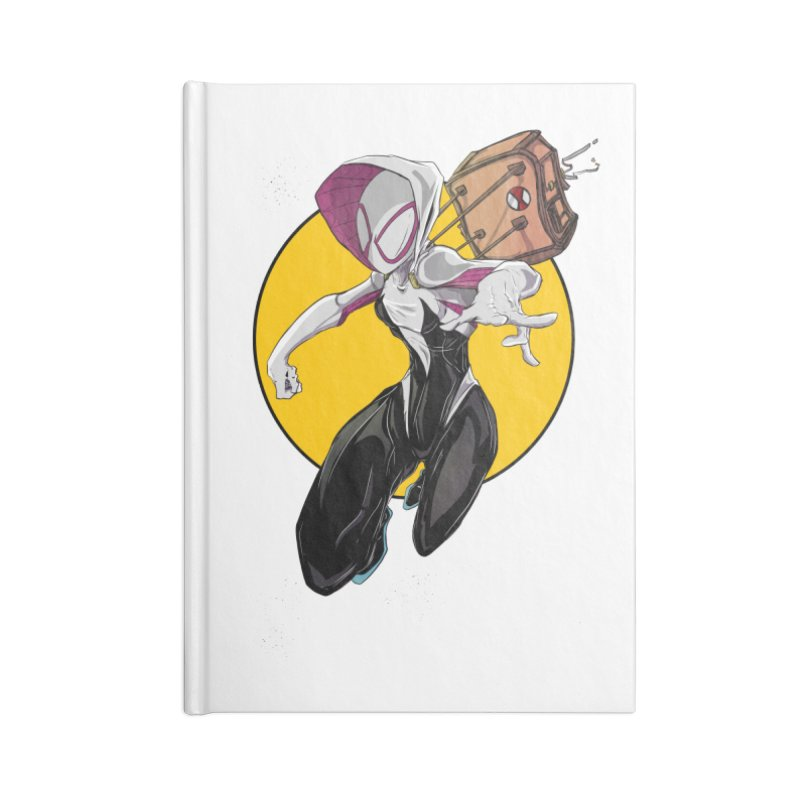 im' late!!  Accessories Blank Journal Notebook by wolly mcnair's Artist Shop