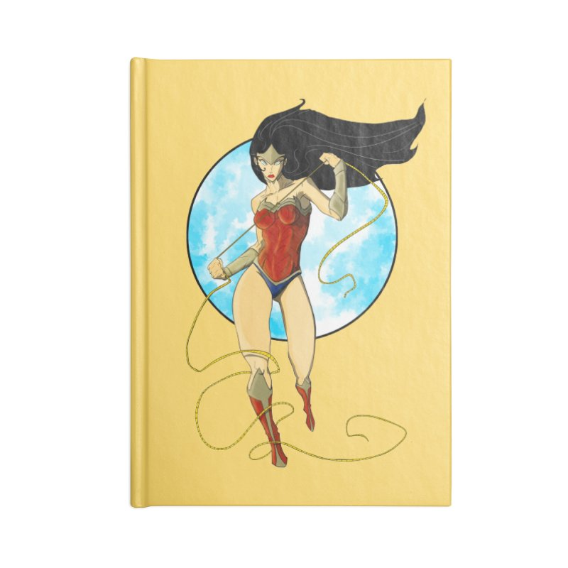 Power  Accessories Notebook by wolly mcnair's Artist Shop