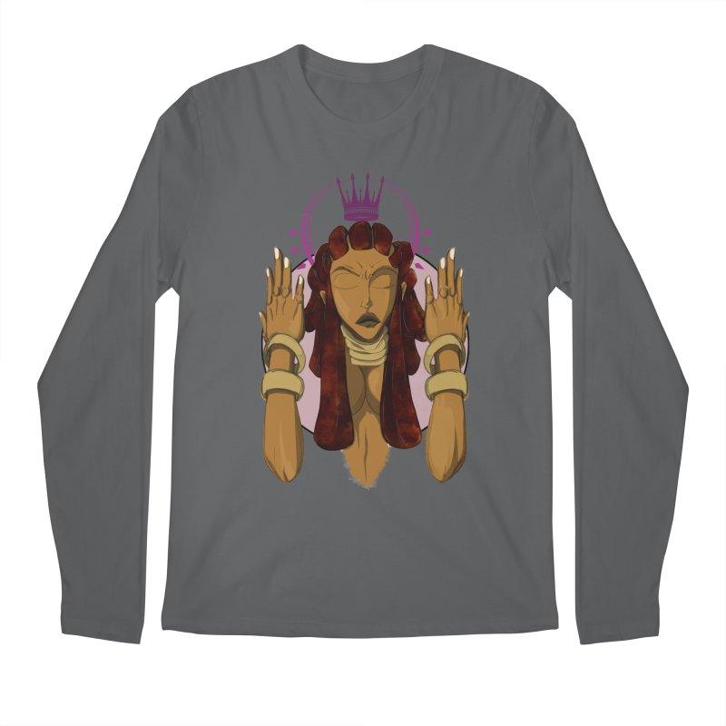 QUEEN Men's Longsleeve T-Shirt by wolly mcnair's Artist Shop