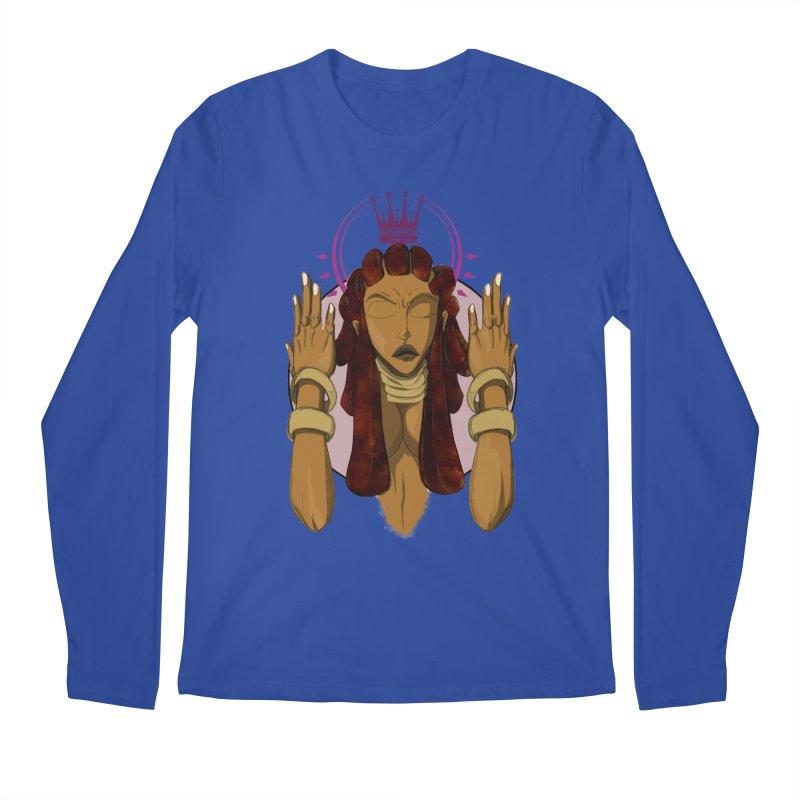 QUEEN Men's Regular Longsleeve T-Shirt by wolly mcnair's Artist Shop