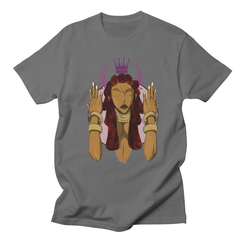 QUEEN Men's T-Shirt by wolly mcnair's Artist Shop
