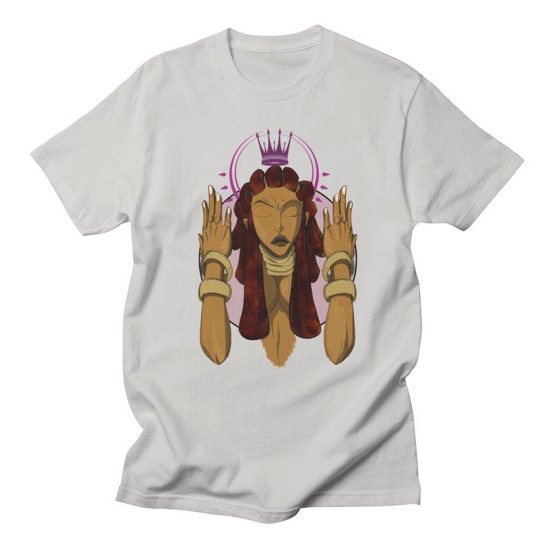 QUEEN Men's Regular T-Shirt by wolly mcnair's Artist Shop