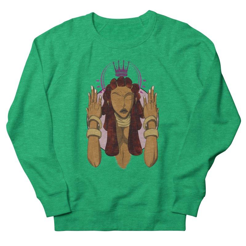 QUEEN Women's Sweatshirt by wolly mcnair's Artist Shop