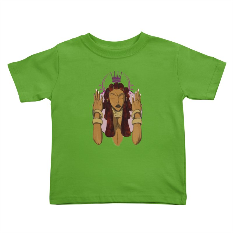 QUEEN Kids Toddler T-Shirt by wolly mcnair's Artist Shop