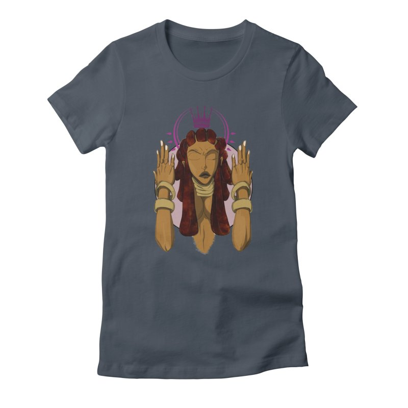 QUEEN Women's T-Shirt by wolly mcnair's Artist Shop