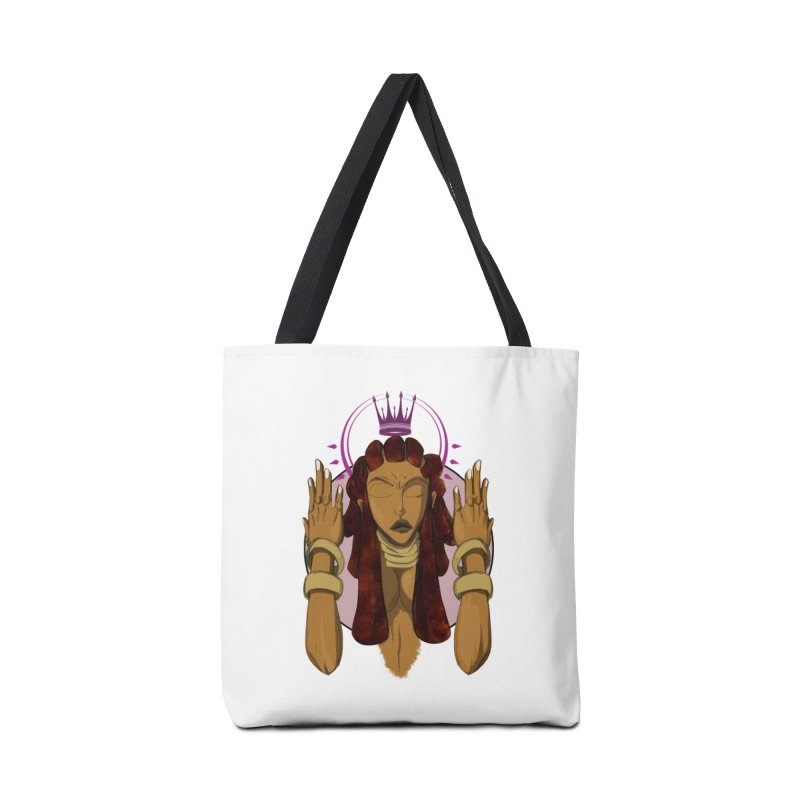 QUEEN Accessories Bag by wolly mcnair's Artist Shop