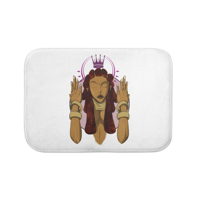 QUEEN Home Bath Mat by wolly mcnair's Artist Shop