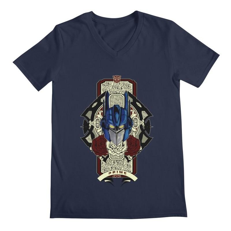 Roll Out Men's Regular V-Neck by wolly mcnair's Artist Shop