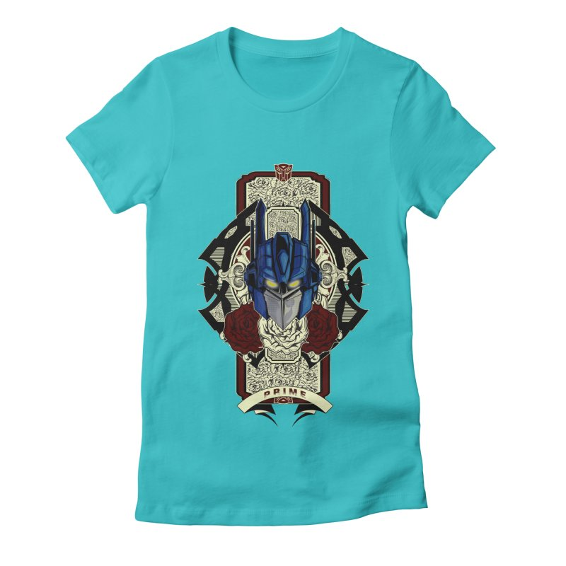 Roll Out Women's Fitted T-Shirt by wolly mcnair's Artist Shop