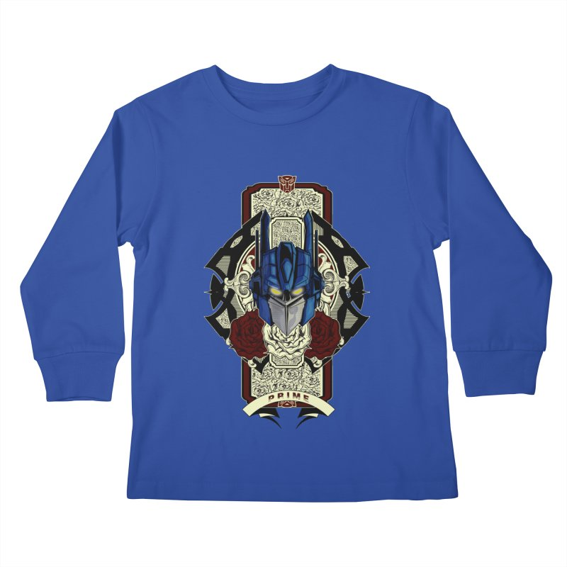 Roll Out Kids Longsleeve T-Shirt by wolly mcnair's Artist Shop