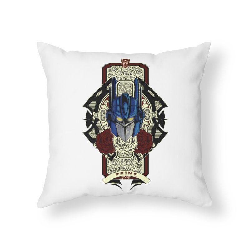 Roll Out Home Throw Pillow by wolly mcnair's Artist Shop