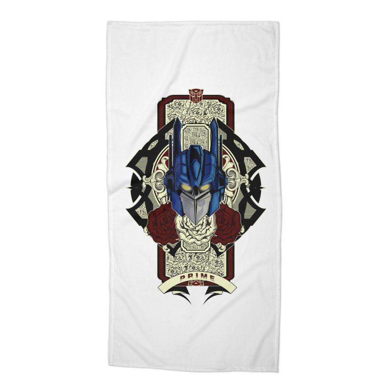 Roll Out Accessories Beach Towel by wolly mcnair's Artist Shop