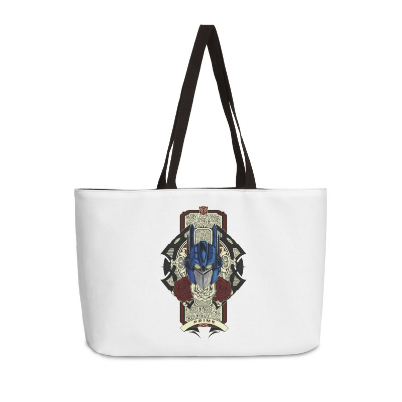 Roll Out Accessories Weekender Bag Bag by wolly mcnair's Artist Shop