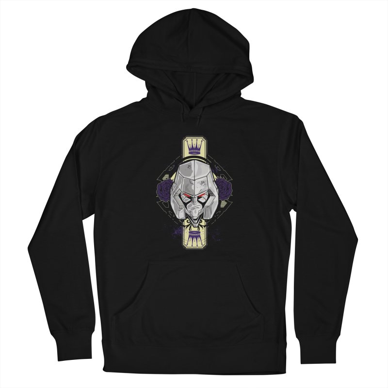 Megs Men's French Terry Pullover Hoody by wolly mcnair's Artist Shop