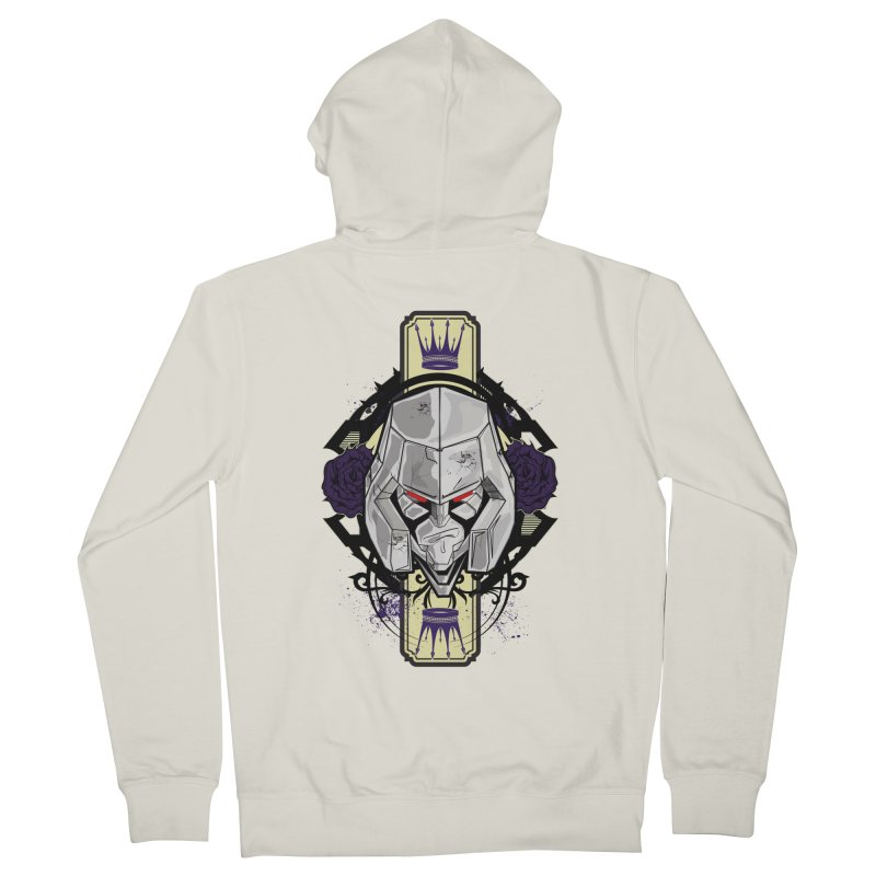 Megs Women's French Terry Zip-Up Hoody by wolly mcnair's Artist Shop