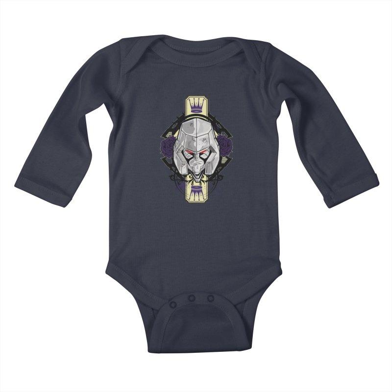 Megs Kids Baby Longsleeve Bodysuit by wolly mcnair's Artist Shop