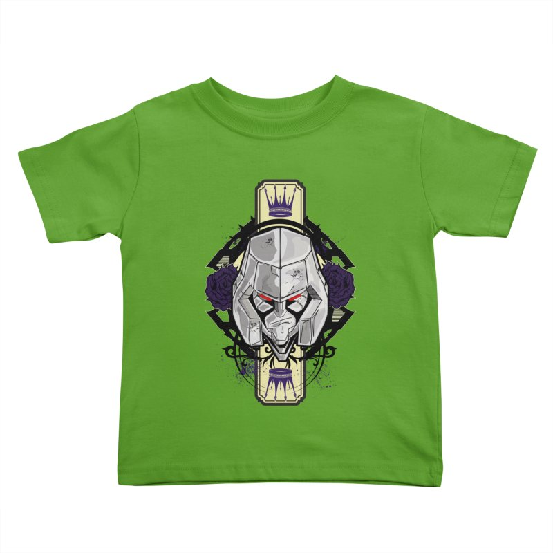 Megs Kids Toddler T-Shirt by wolly mcnair's Artist Shop