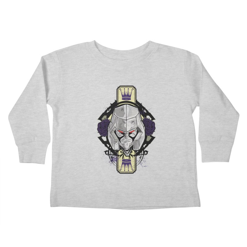 Megs Kids Toddler Longsleeve T-Shirt by wolly mcnair's Artist Shop